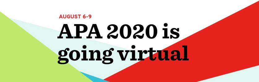 APA Annual Convention 2020